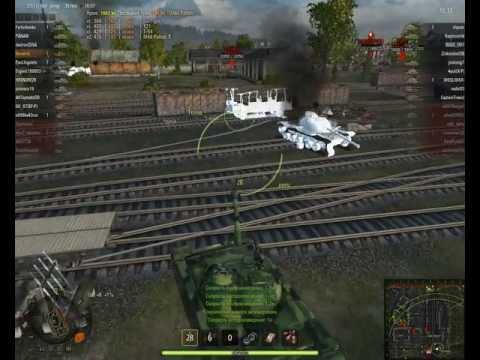 World Of Tanks 121 Китай ташит!