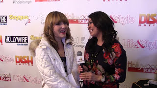 Christina Robinson at #IndieLounge #Sundance with ON Entertainment