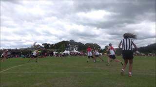 2016 Maori Nationals Touch Open Mens Semi Final Touchdowns