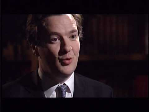 Jeremy Paxman suprises British MP George Osborne