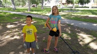 My kids found an Awesome Treasure metal detecting in Copperton Park!