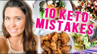 Top 10 Keto Mistakes (Beginners Make) & How to Avoid Them! | Ashley Salvatori
