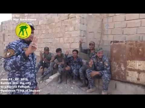 RAW Intense Battle & Liberation of ISIS-Held Fallujah, Iraq June 2016