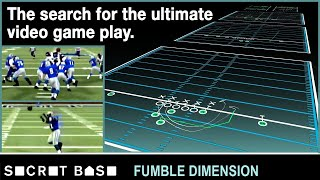We made the best NFL play ever for the worst NFL team ever | Fumble Dimension