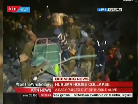 Hunt for Survivors After Kenya Building Collapse
