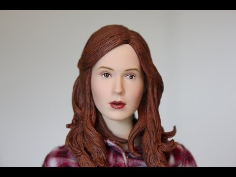 Amy Pond sculpted hair replacement head Doctor Who Big Chief Studio review