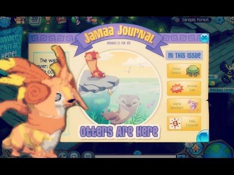 Animal Jam: Updates - OTTERS