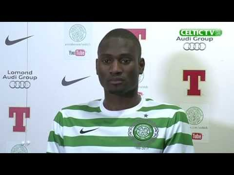 Celtic FC - Amido Balde Signing Media Conference