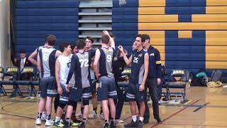 Long Beach Millikan Varsity Volleyball vs Long Beach Jordan 3-22-18 1st Set