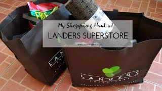 MommyLevy - Landers Superstore Haul December 1, 2016