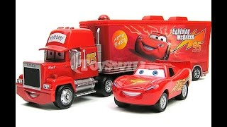 Disney Cars - McQueen Car and Mack Truck - Toys Play for Kids - Kids VIdeo