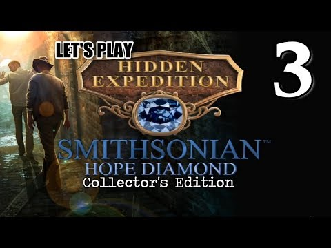 Hidden Expedition 6: Smithsonian Hope Diamond CE [03] w/YourGibs - PRESSING FANCY COLLECTOR COINS