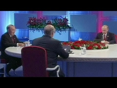 Historic Eurasian Union meeting in Kazakhstan - no comment