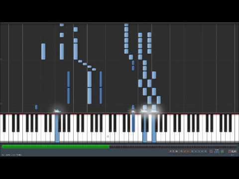Synthesia: Monochrome No Kiss (kuroshitsuji Opening 1) video