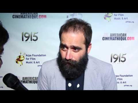 Sebu Simonian - 1915 Movie Premiere - Arpa Foundation for Film, Music & Art