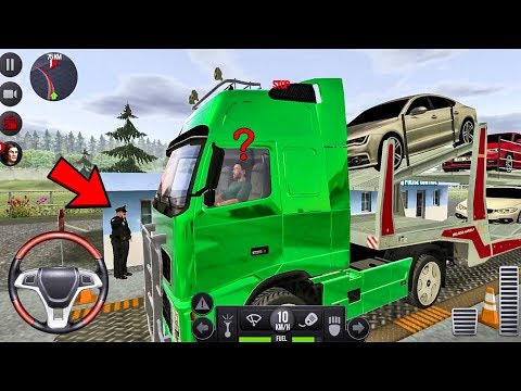 Truck Simulator 2018 Europe #25 Cars Transport! - Truck Games Android gameplay
