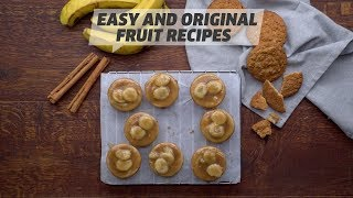 Easy And Original Fruit Recipes | Mini Banana Cheesecakes & Blackberry & Apple Croissant Cake