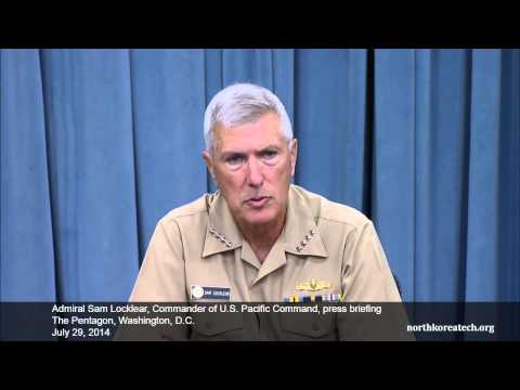 US PACOM Commander Locklear on North Korean missile technology