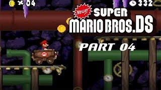 BAGON WAY!!! Lets Play Newer Super Mario Bros. DS Part 4: Kart fahren in der Kristall Höhle