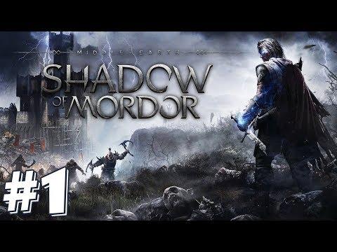 ЗАПИСЬ СТРИМА ► Middle-earth: Shadow of Mordor #1