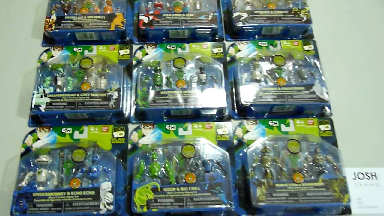 Ben 10 Alien Creation Collection Set Of 9 Youtube