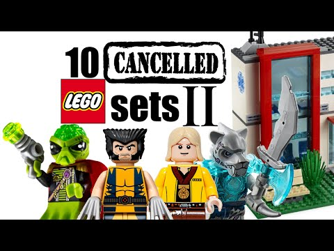 Top 10 Cancelled LEGO Sets - The Sequel!