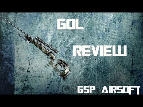 GSG MB05 Sniper Softair Review (GsP Airsoft) GERMAN