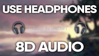 Shawn Mendes Zedd Lost In Japan Remix 8d Audio