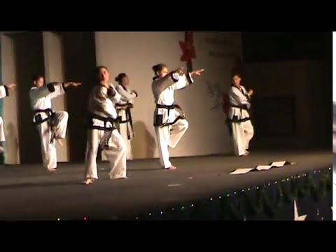 Villa de las Niñas - Demostración de artes marciales parte 1