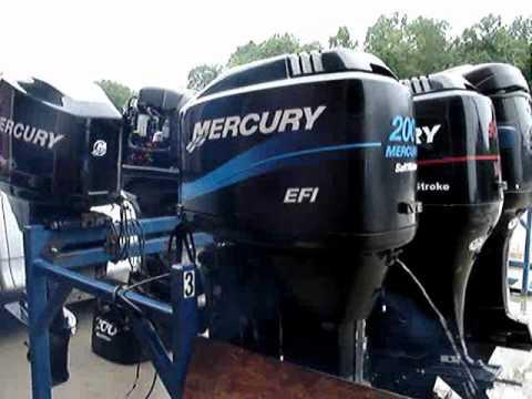 1999 MERCURY 2 STROKE 200 HP EFI OUTBOARD