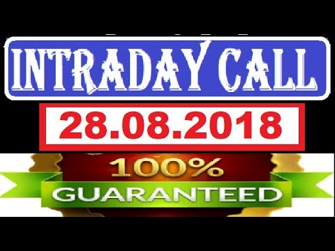 IntraDay Top 3 Jackpot Call 28.08.2018 || today stock || intraday || best stock for 2018