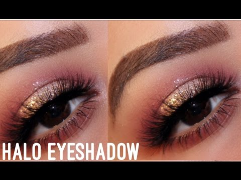 Easy Halo Eyeshadow Tutorial || ABH Modern Renaissance - YouTube