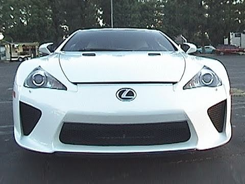 Lexus LF-A 2012 - Cool Cars, Hot Cars, Fast Cars