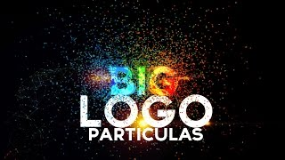 Logo Con Particulas After Effects Tutorial