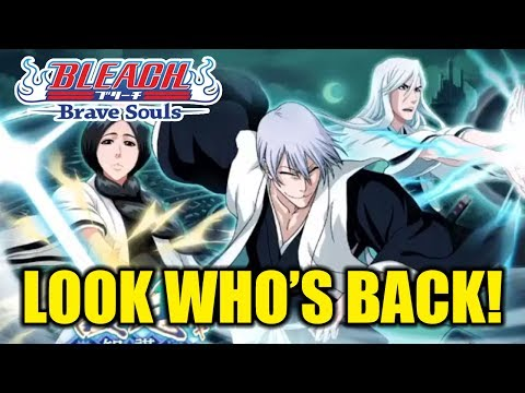 Bleach Brave Souls (News): First Look: GIN, RETSU, and JUSHIRO Confirmed!