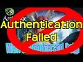 ArcheAge - Authentication Failed