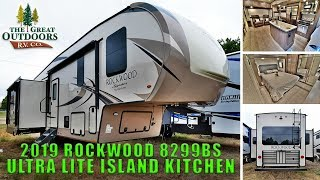 2019 FOREST RIVER ROCKWOOD 8299BS Signature Ultra Lite Island Kitchen Fifth Wheel Colorado RV Sales