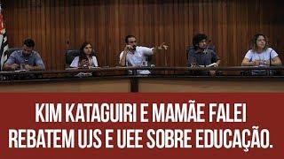 Kim Kataguiri e Mamãe Falei rebatem UJS e UEE sobre educação.