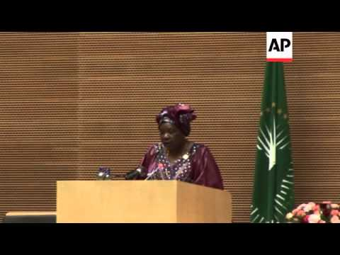 African Union delegates meet for summit comment on violence in Central African Republic and South Su