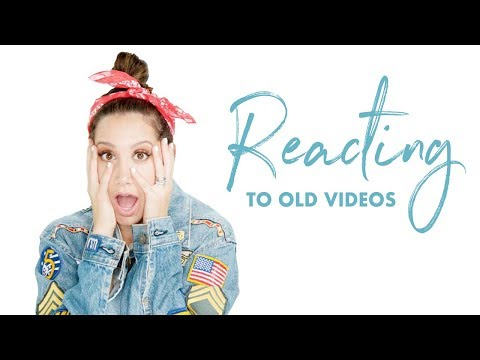 Reacting to Old Videos | Ashley Reacts