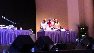 DJ Mixing FLY GIRL with ROXANNE ROXANNE @ the KINGS OF HOP HOP SHOW @ DAR Constitution Hall