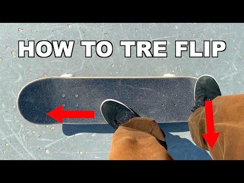 HOW TO TRE FLIP