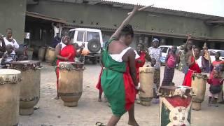 Women Burundi Drummers