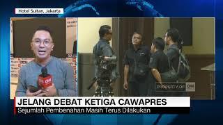 Live Report: Jelang Debat Ketiga Cawapres
