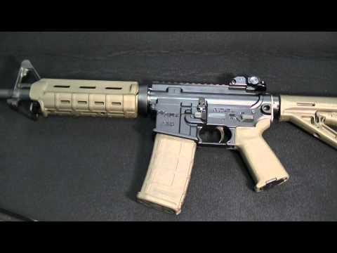 sig sauer m400 enhanced ar15 w/ magpul accessories (close