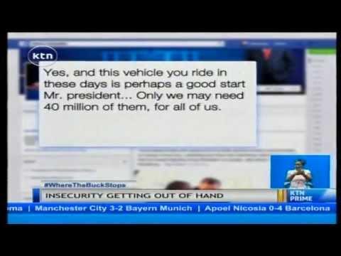 Dear Mr. President: A letter to President Uhuru Kenyatta over sad state of security in Kenya