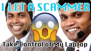 What Happens When Indian Scammer TAKES CONTROL OF YOUR COMPUTER? PART 1