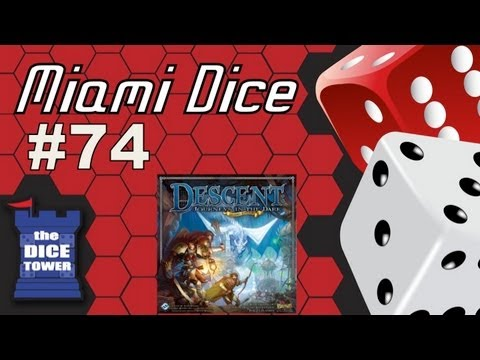 MIami Dice - Episode 74 - Descent, Journeys in the Dark 2.0