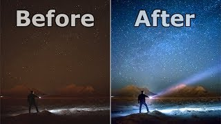 Milky Way Photography - Make Your Photos Look AWESOME In 5 Minutes!! - Lightroom Tutorial