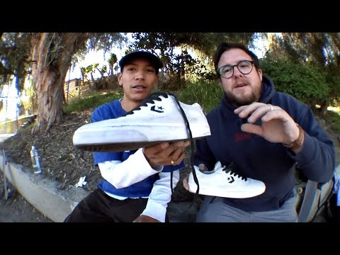 Louie Lopez: 100 Kickflips In The Converse Louie Lopez Pro